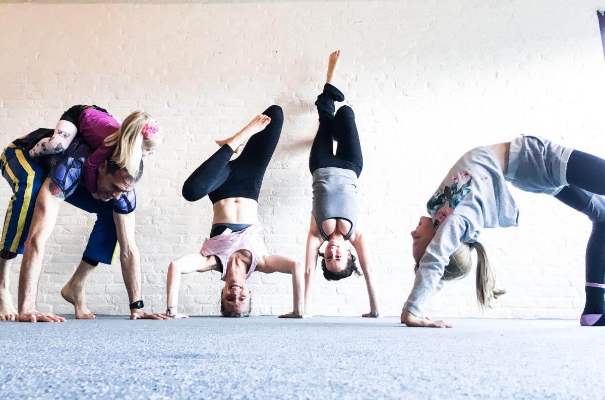 Yoga voor Serious Request
